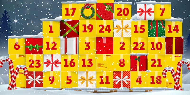 calendario Avvento DHL 2020