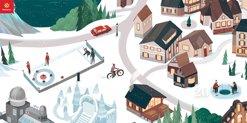 calendario Avvento My Switerzland 2020
