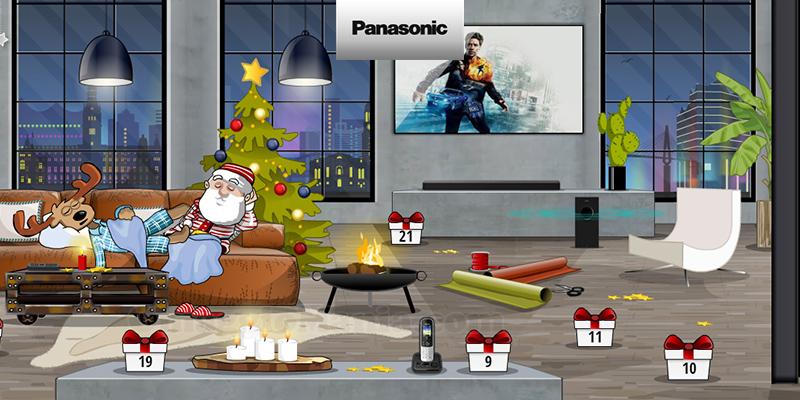 calendario Avvento Panasonic 2020