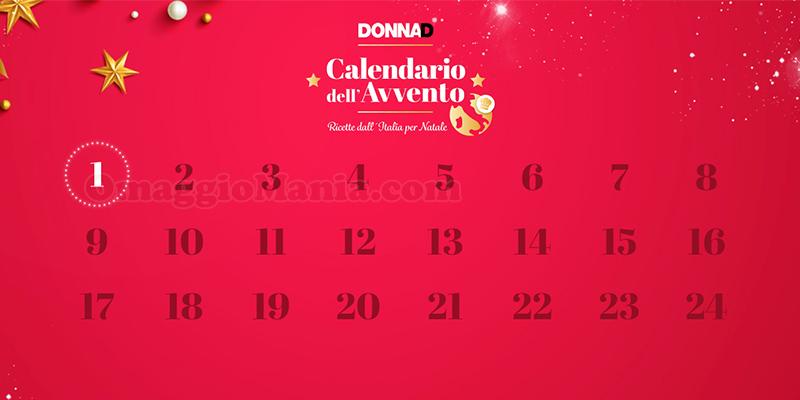 calendario dell'Avvento DonnaD 2020