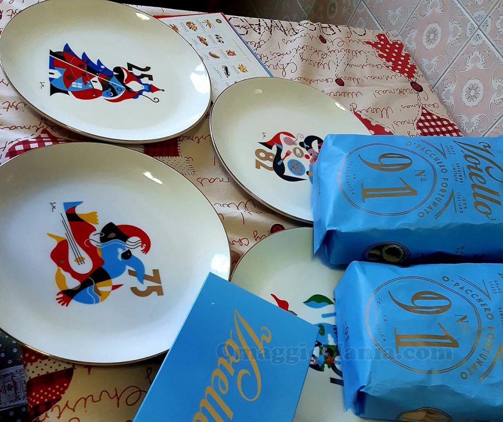 gift box La Scaramantica Voiello di Eve con Tombola Voiello