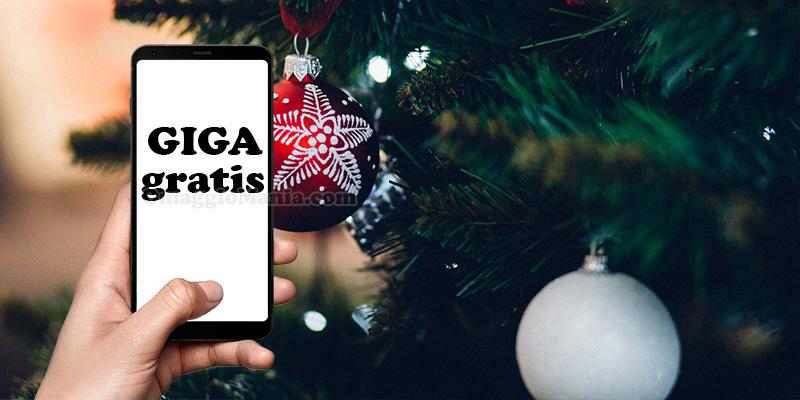 giga gratis a Natale