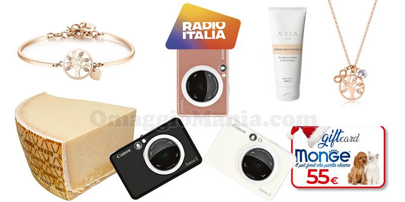 gioco di Natale 2020 Radio Italia