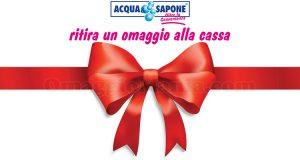 omaggio alla cassa Acqua & Sapone
