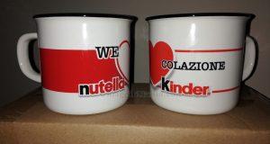 tazze Nutella Kinder omaggio con WeLoveColazione 2020 di Silvana