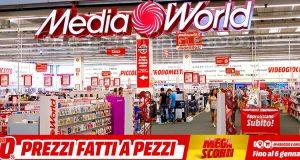 MediaWorld Mega Sconti gennaio 2020