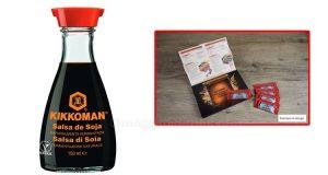 box salsa di soia Kikkoman