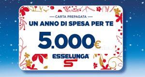 carta prepagata Esselunga 5.000 euro