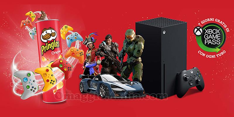 concorso Pringles Gaming 2021 xbox series x