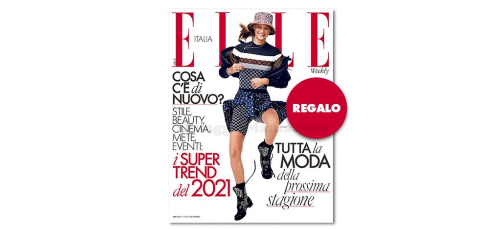 coupon omaggio Elle 1-2 2021