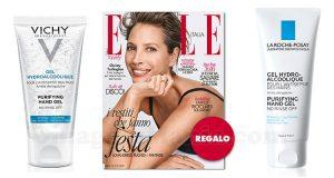 coupon omaggio Elle 48 2021 e gel igienizzante mani Vichy o La Roche-Posay