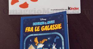 fumetto Disney Paperino omaggio di Federica con Kinder