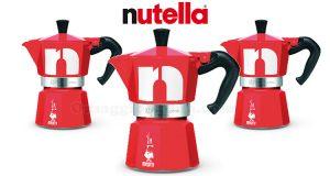 moke Bialetti personalizzate Nutella anticipazione