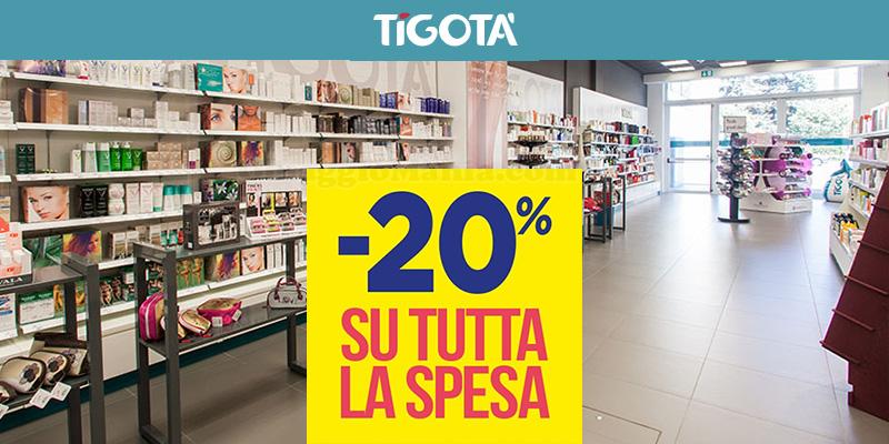 sconto spesa Tigotà