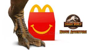 sorprese Happy Meal Jurassic World Nuove Avventure