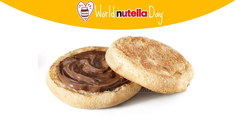 McDonald's World Nutella Day McCrunchy Bread omaggio