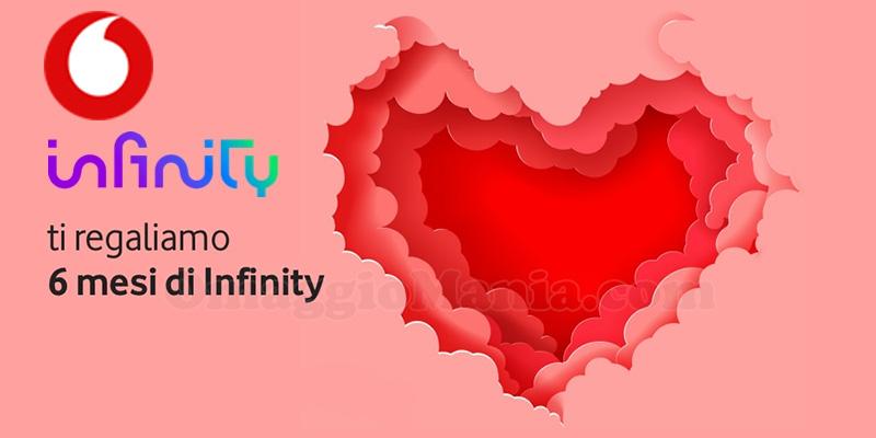 Vodafone San Valentino 2021 regala 6 mesi di Infinity