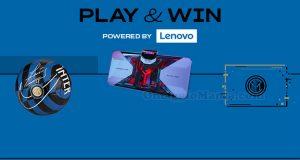 concorso Play&Win with Lenovo