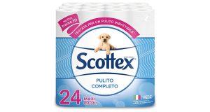 carta igienica Scottex Pulito Completo