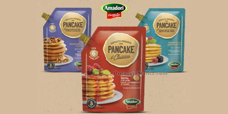 assaggia impasti pronti per pancake Amadori