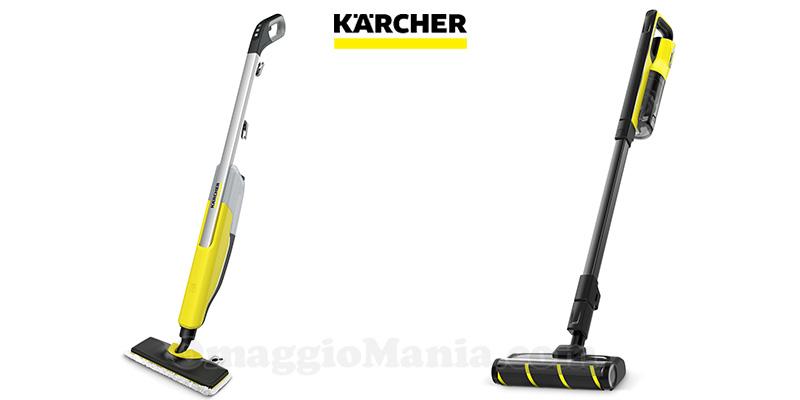 diventa tester di pulitore a vapore o aspirapolvere 2in1 Kärcher