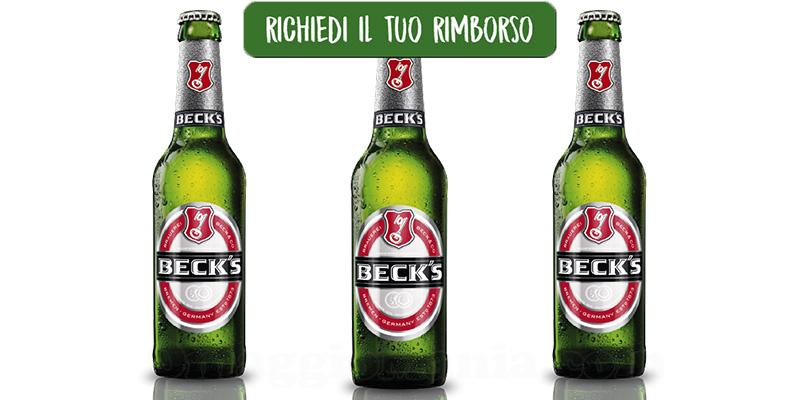 Alla birra ci pensa Beck's