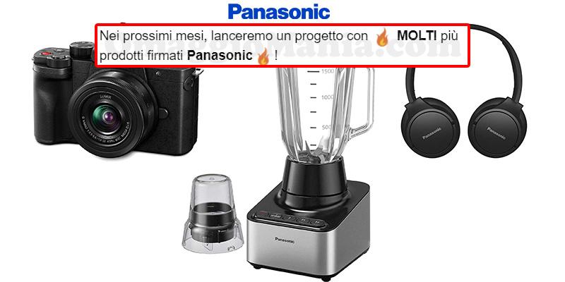 anticipazione progetto Panasonic prossimi mesi