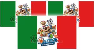 bandiera Italia Gattastica 44 Gatti