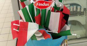 bandiera Italia omaggio con Gratinati Findus