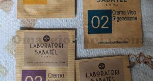 campioni omaggio Laboratori Sabatel di Kaelle