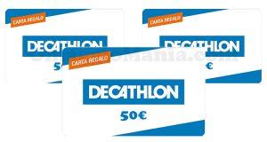 carte regalo Decathlon 50 euro