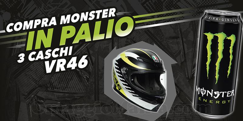 concorso Compra Monster e puoi vincere un casco