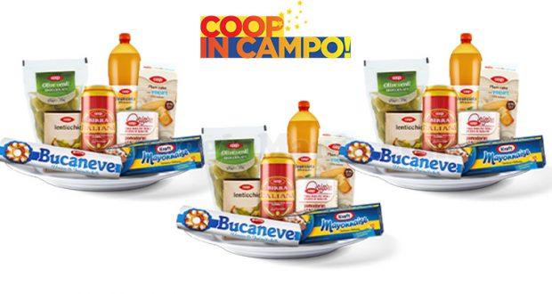 concorso a premi COOP in campo