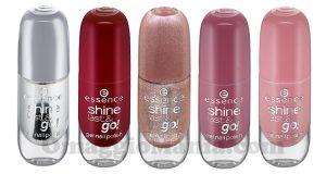 gel smalti Essence Shine Last & Go