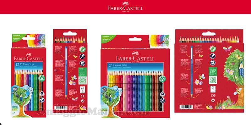 prodotti Faber-Castell con logo