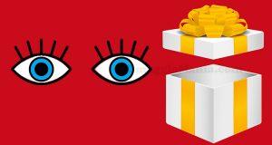 regalo occhi