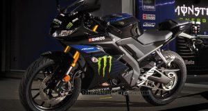vinci moto Yamaha R125 Replica con Monster