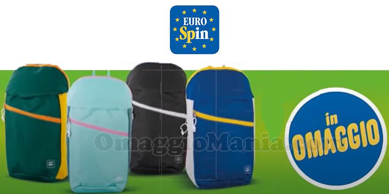 zaino 12 litri omaggio Eurospin