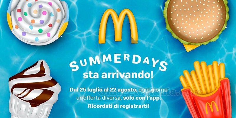 McDonald's Summerdays 2021