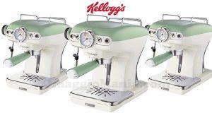 concorso Kellogg's Vinci subito la macchina da caffè vintage Ariete