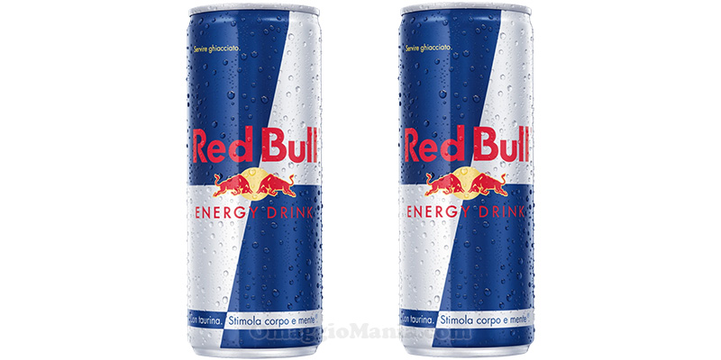 lattine Red Bull Energy Drink