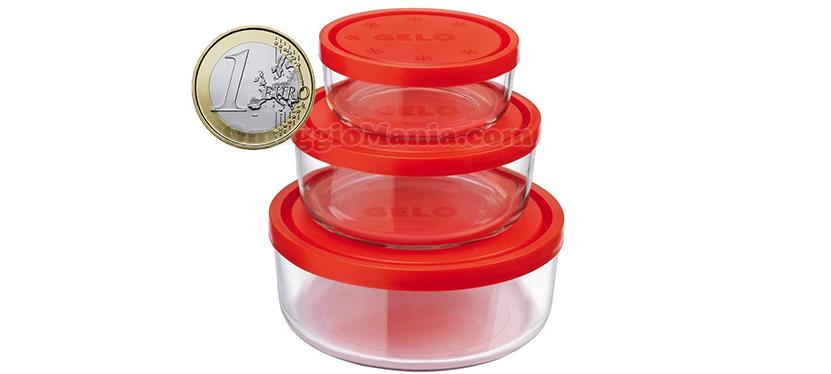 set contenitori Bormioli Rocco Gelobox a 1 euro