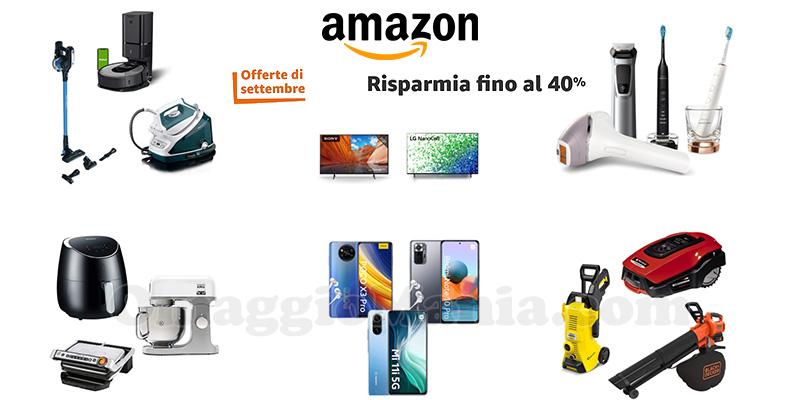 Amazon Offerte di Settembre 2021 offerte