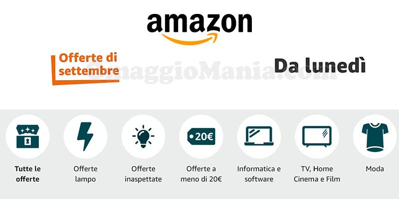 Amazon Offerte di Settembre 2021