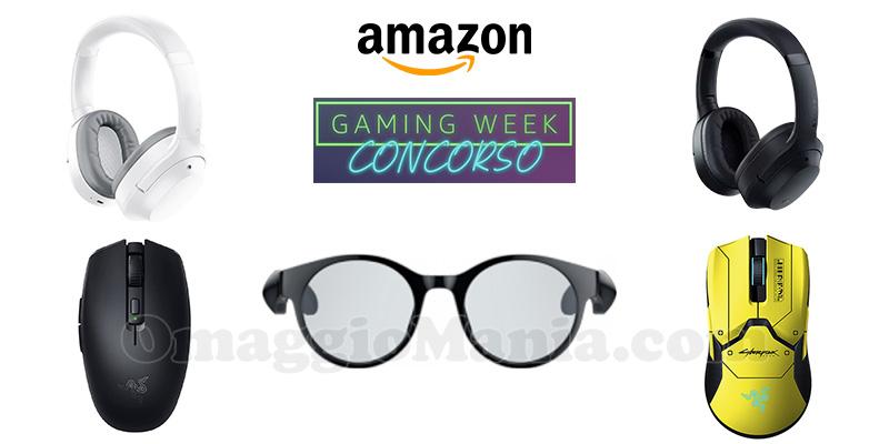 Amazon concorso Gaming Week