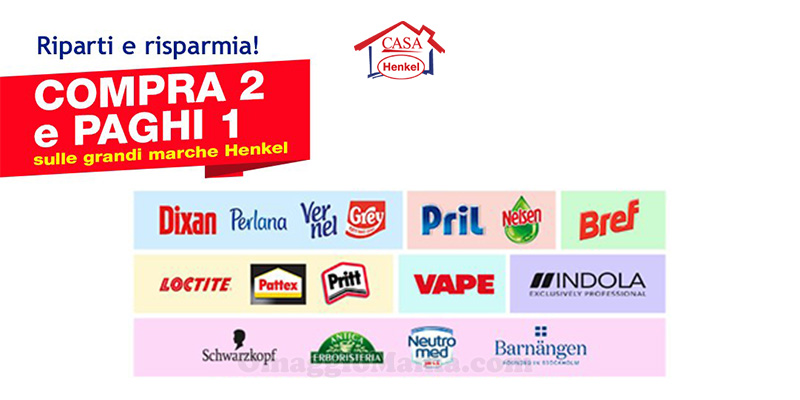 Casa Henkel Compra 2 paghi 1