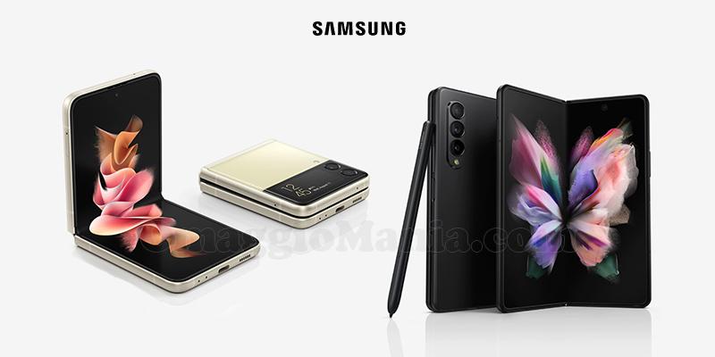 Samsung Galaxy Z Flip3 e Fold3