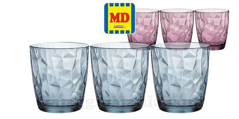 bicchieri Bormioli Rocco a 1,50 da MD