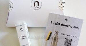 campione omaggio gel doccia NeoCosmetics