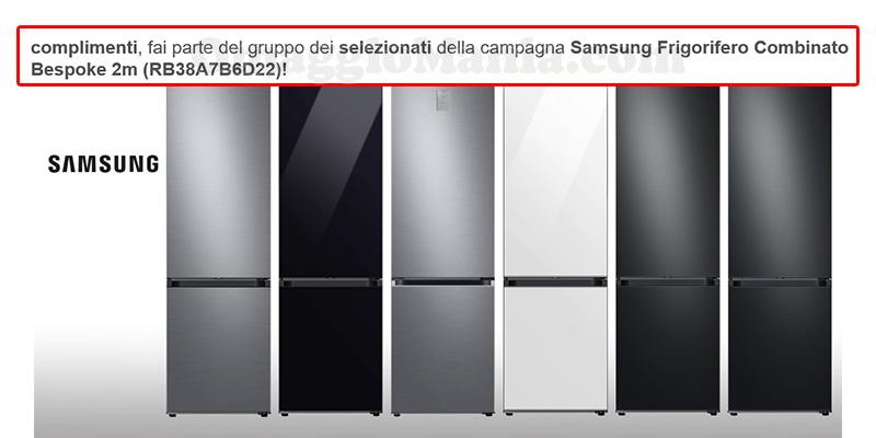 selezione tester frigoriferi Samsung BeSpoke
